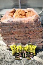 Kiln-dried Birch Hardwood Logs 22L x 60 nets